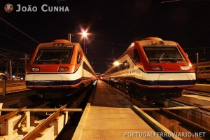 Comboios Pendulares em Contumil