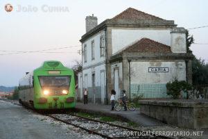 Após o encerramento, o troço Caria - Belmonte chegou a ser renovado mas nunca viu a passagem de comboios.
