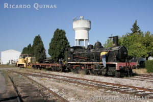 Intervenção de transferência da locomotiva 262.
