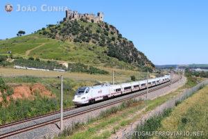 Comboio Alvia a caminho de Cádiz. Foto: João Cunha.