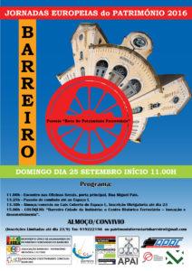 Cartaz do evento e detalhes para inscrições.