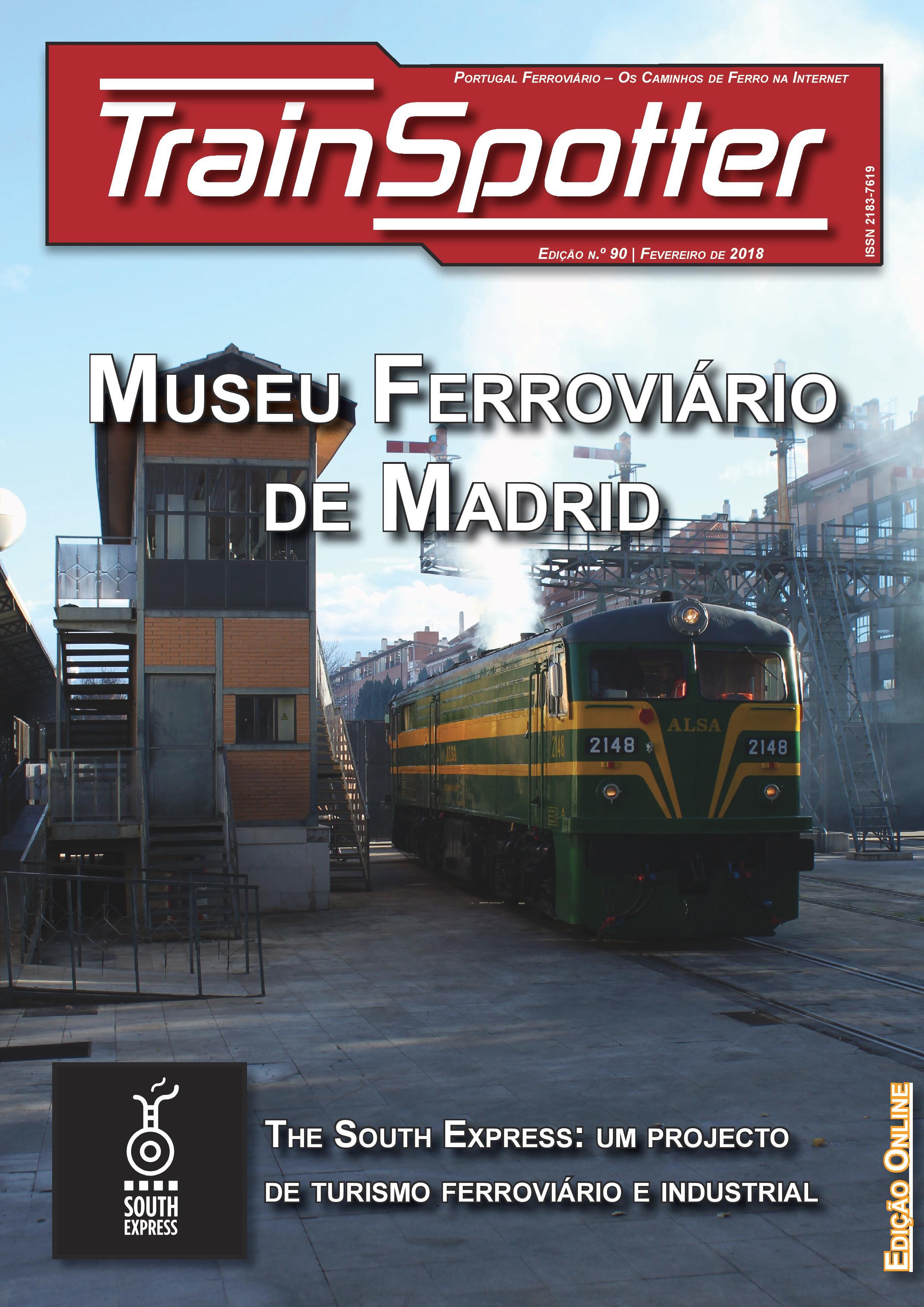 Trainspotter nº 090 – Fevereiro de 2018