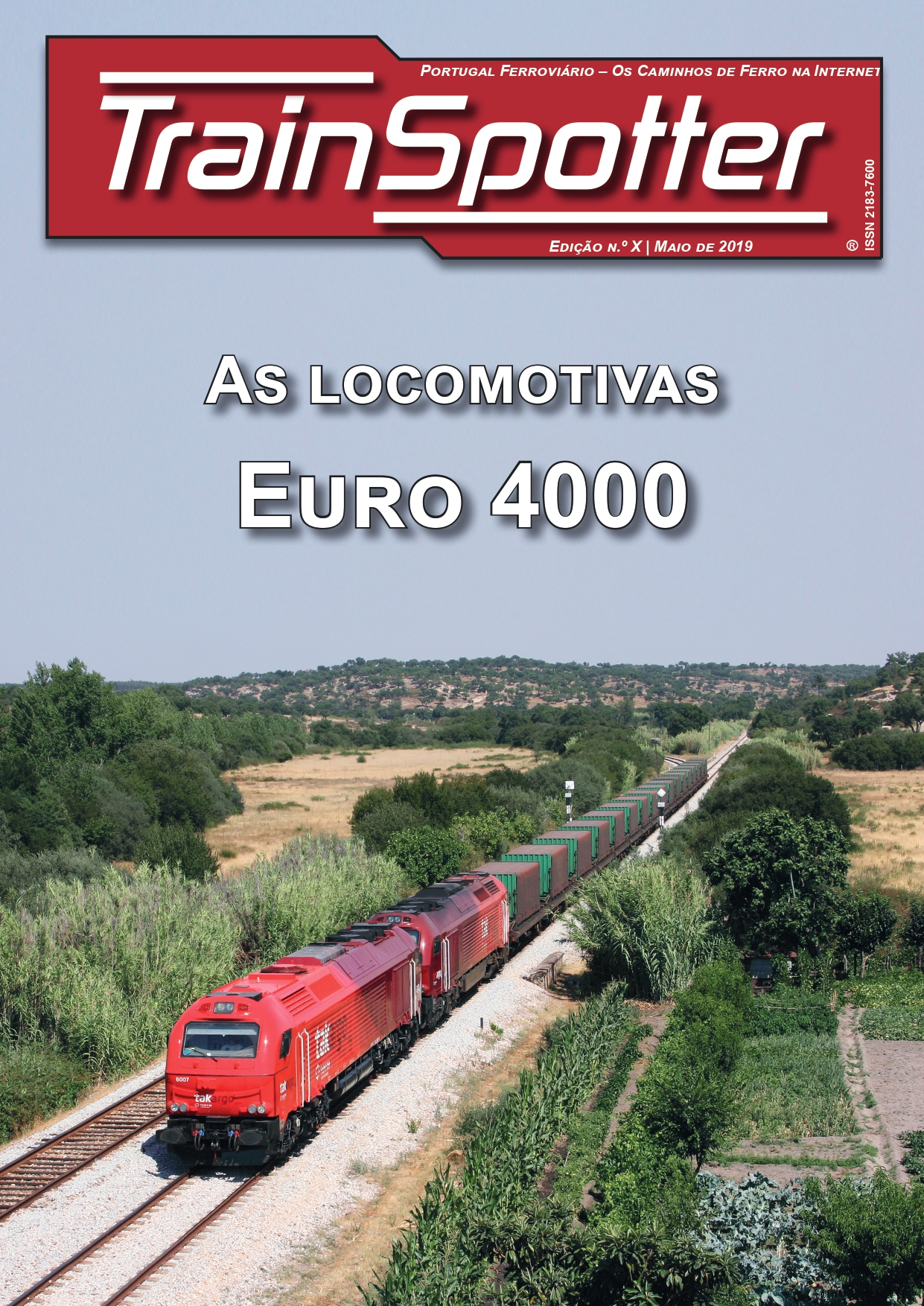 Trainspotter X – As locomotivas Euro 4000