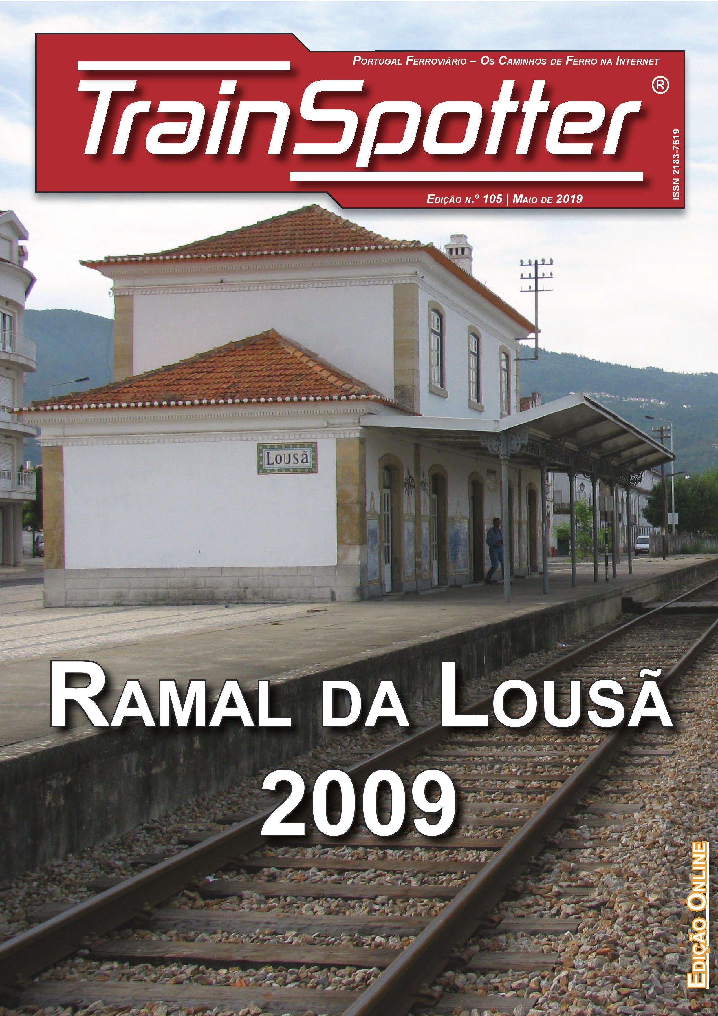 Trainspotter nº 105 – Maio de 2019