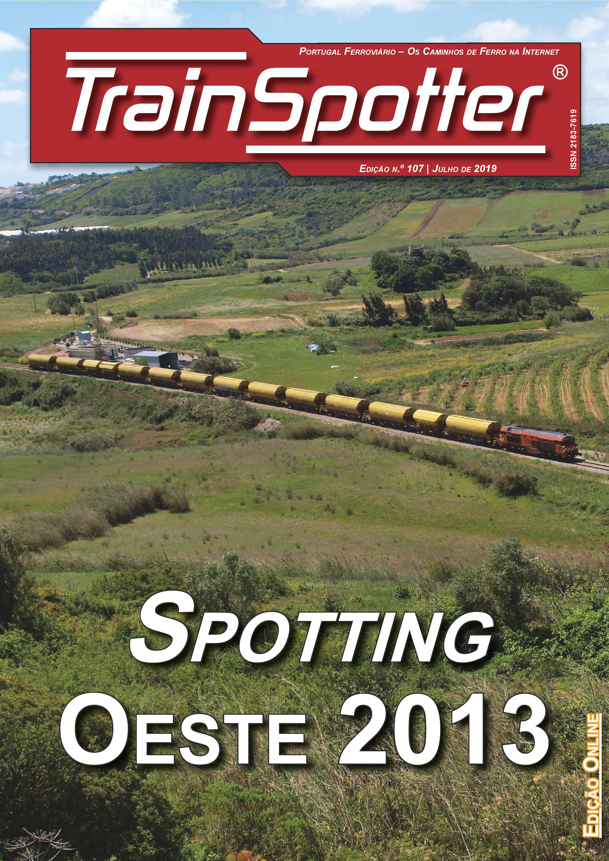 Trainspotter nº 107 – Julho de 2019