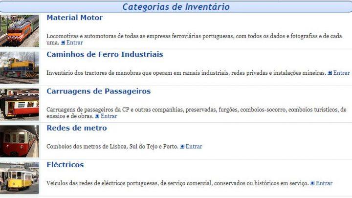 O Inventário de Material Circulante Português