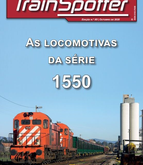 As locomotivas 1550 – novo número impresso!