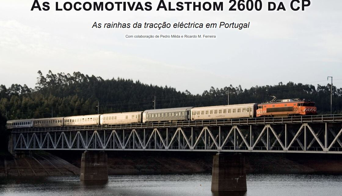 As Locomotivas 2600 da CP